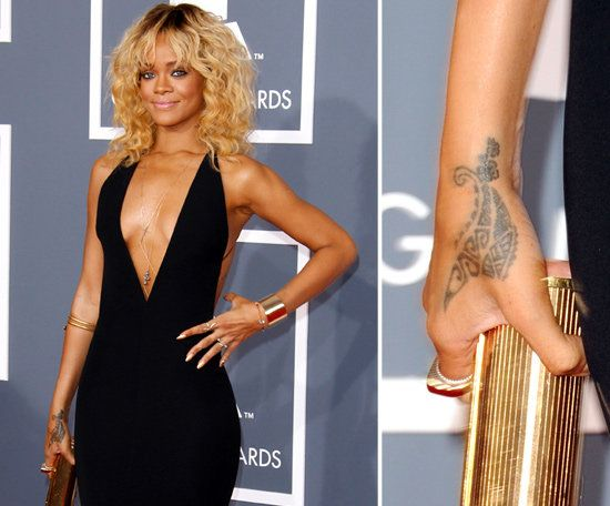 Rihanna Tattoo 2
