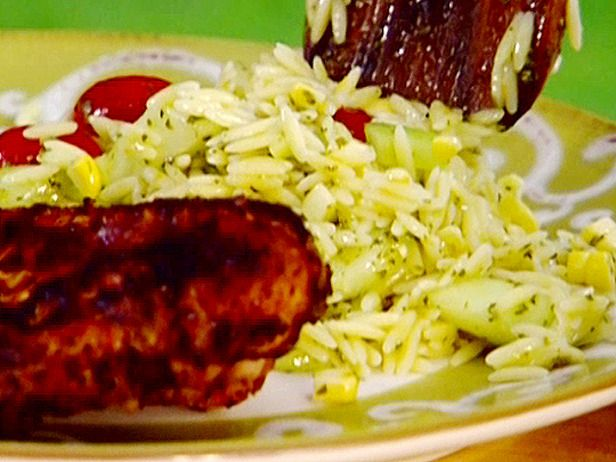 Garden Orzo Salad with Herb Dressing | Recipe