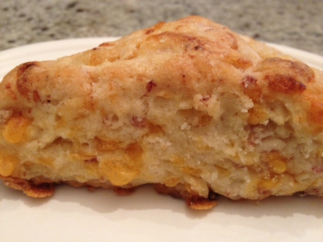 Bacon, Cheddar & Chive Scones | Breakfast Recipes | Pinterest