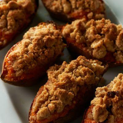 Twice-Baked Sweet Potatoes... sweet version