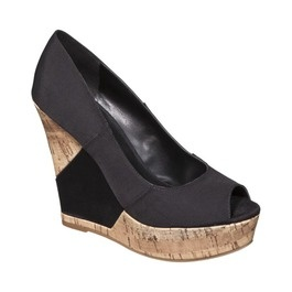 Wedges, $29.99 @ Target.  Cute in person too.