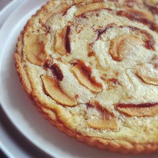 Apple Frangipane Tartelettes With Cheesecake Ice Cream Recipes ...