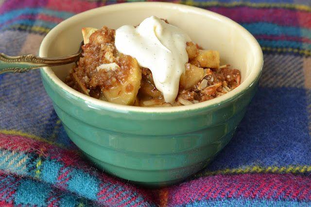 Apple Almond Crisp