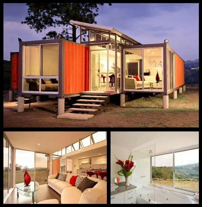 1000 images about container homes 1000 images about container house on pinterest container - Container homes cost per square foot ...