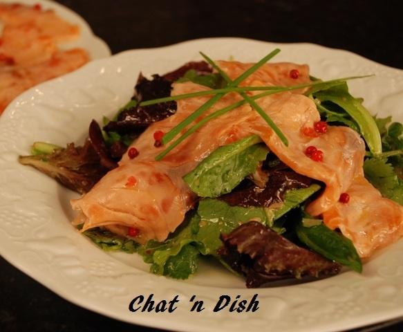 Lemon Marinated Salmon Salad | Salmon/Halibut | Pinterest