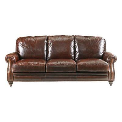 Bassett Leather Sofa homey