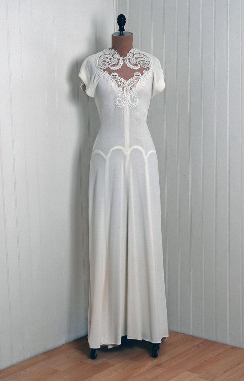 1940s wedding dresses