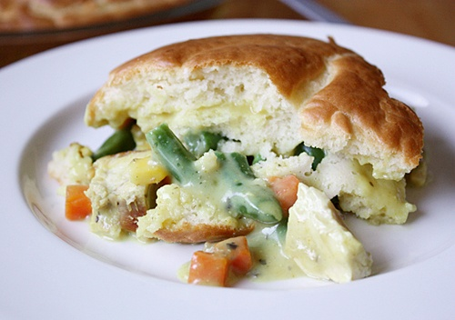 Curry Chicken Pot Pie | Recipe