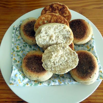 Joybee, What's for Dinner? Multigrain English Muffins (Sourdough)
