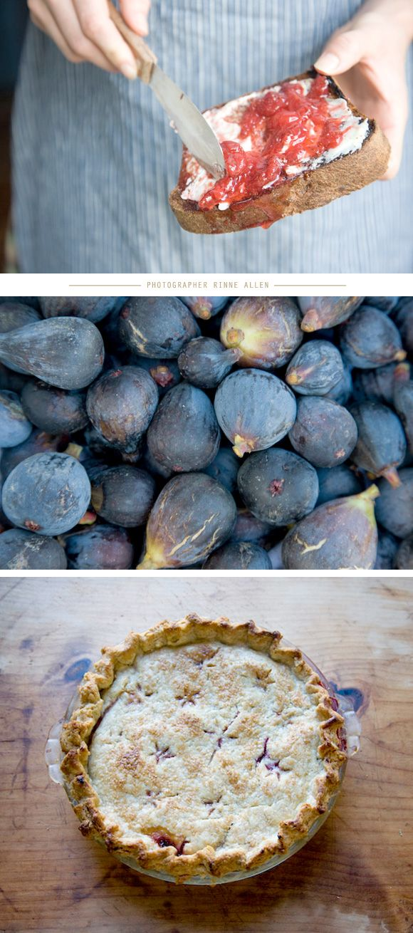I really need to bake a pie. And this year, make something with fresh figs.