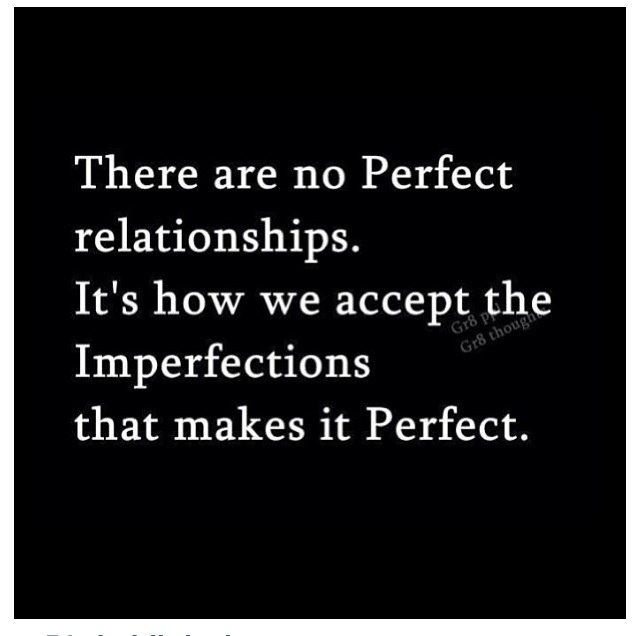 dating perfectionism