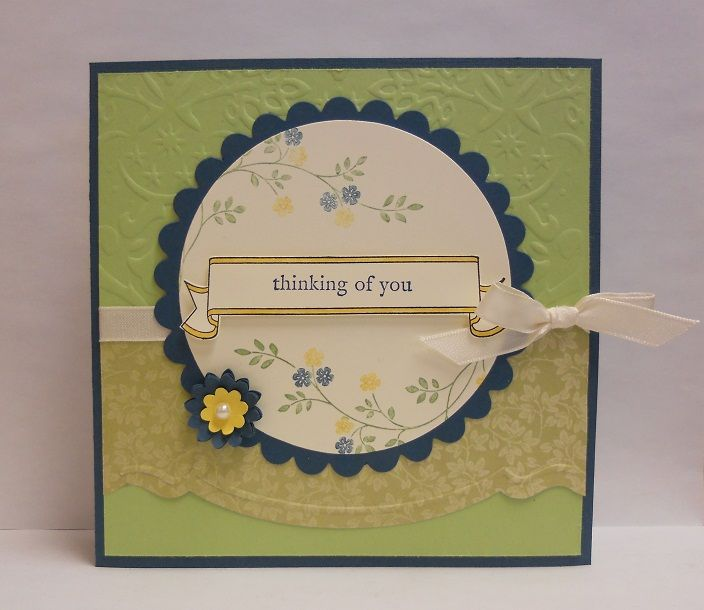 Sympathy card stampin up cards pinterest