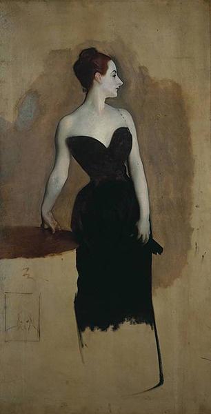 Madame X (in progress), John Singer Sargent