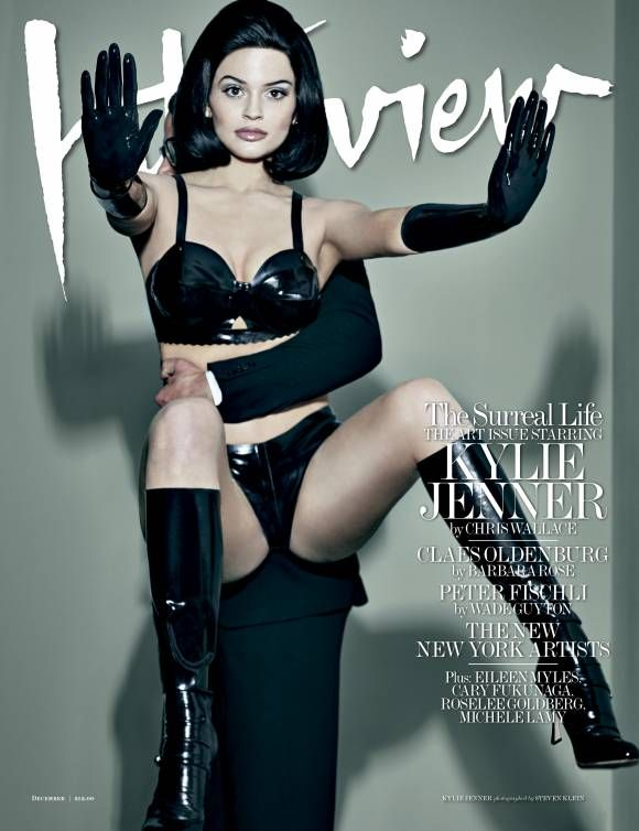 Kylie Jenner Poses Like a Dominatrix Doll for Interview' Magazine