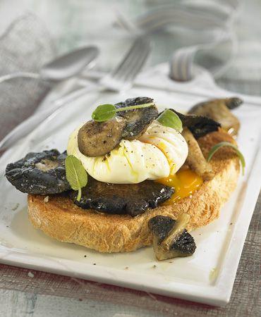 Mushroom And Crushed Egg Tapas (Tapas De Setas Con Huevo) Recipes ...