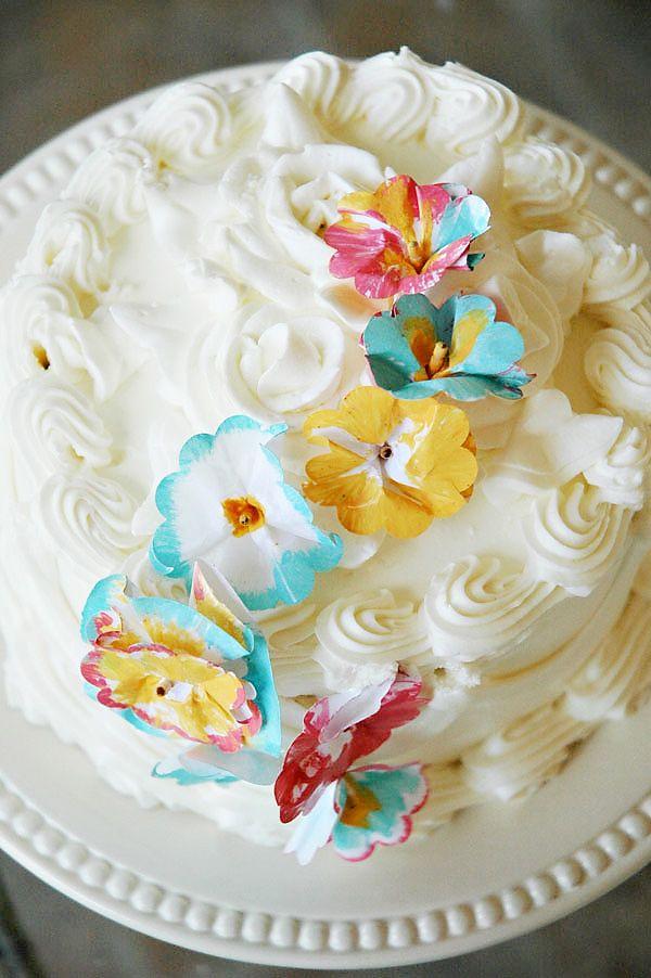 DIY Tutorial: Cake Decorating with Paper
