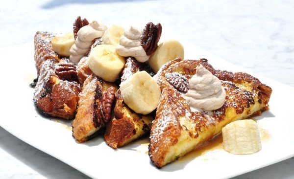 Bananas Foster French Toast   Eat Brekkie & Brunch   Pinterest