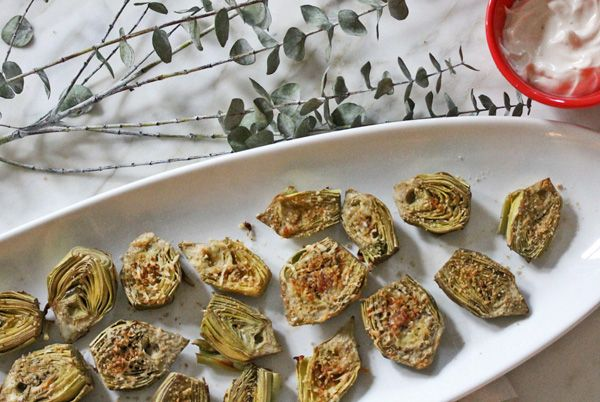 roasted baby artichokes with a garlic lemon aioli - what's cooking ...