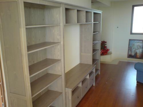 Hemnes Tv Unit White Stain : Hemnes BookcaseTV unit in gray stain  Living Room  Pinterest