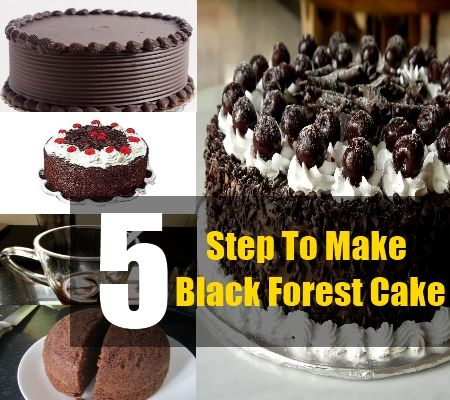 Recipe For Black Forest Cake | Drinks & Recipes | Pinterest