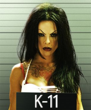 K 11 Gun ... , she don't need a gun K-11 The Movie Kate del Castillo- i liked it