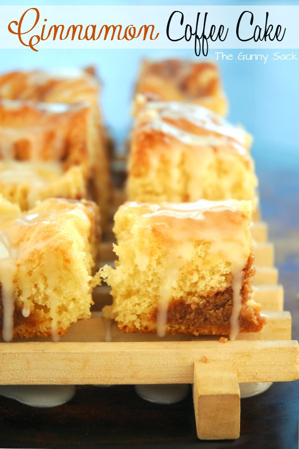 Cake Mix Cinnamon Streusel Coffee Cake. Made with white cake mix ...