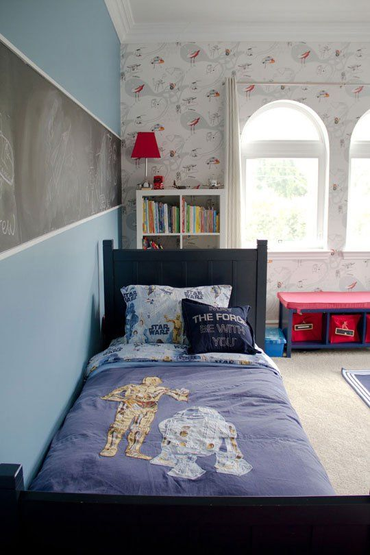 Comstar Wars Kids Rooms : May the Force Be In Your Room: 10 Star Wars Nurseries & Kids Bedrooms