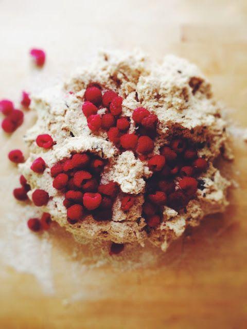 Raspberry Dark Chocolate Coconut Scones   Food&Drink   Pinterest