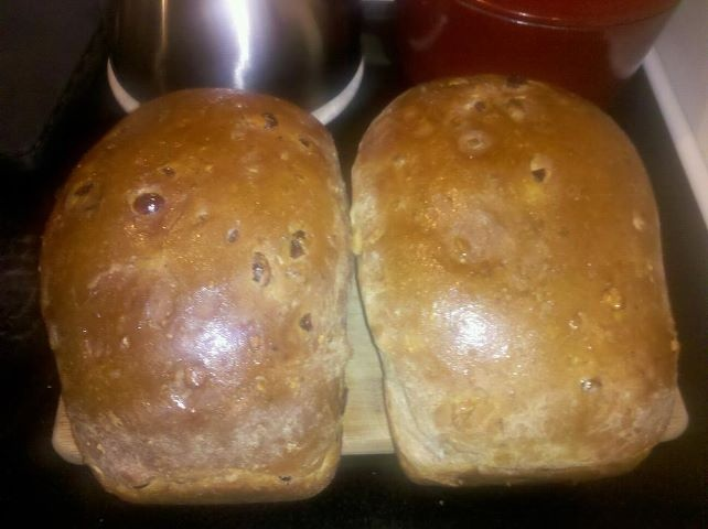 dry yeast 1 lg. egg 1 1/2 Tbs. softened butter 3 Tbs. honey ...