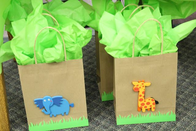 diy baby shower gift bags