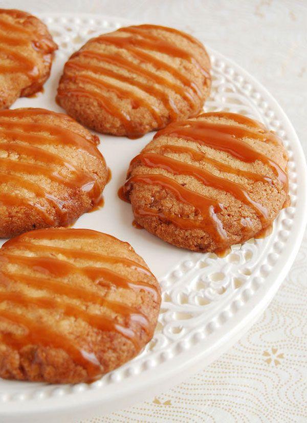 Cashew Caramel #Cookies | eatwell101.com