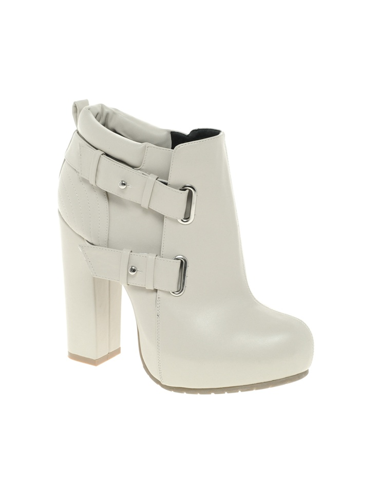 ASOS ASTRO Platform Ankle Boots