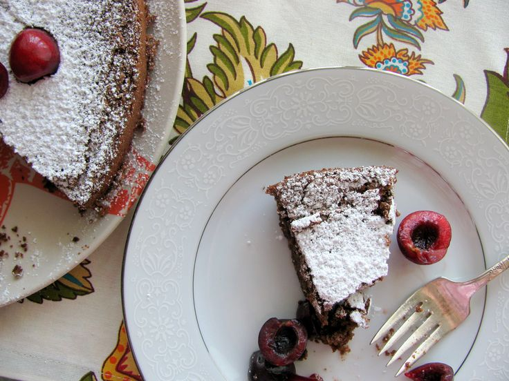 Chocolate Buckwheat Cake {from @deb rouse schwedhelm}