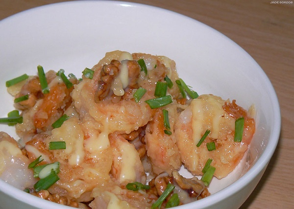 Chinese honey walnut shrimp. | Actual Food I've Made | Pinterest