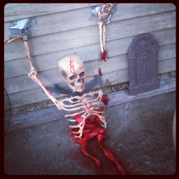 Cody 39 S Homemade Scary Decoration Halloween Pinterest