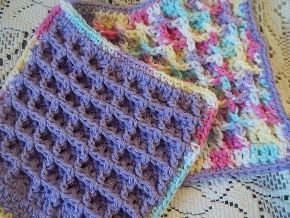 Crochet Patterns Waffle Stitch : Waffle stitch