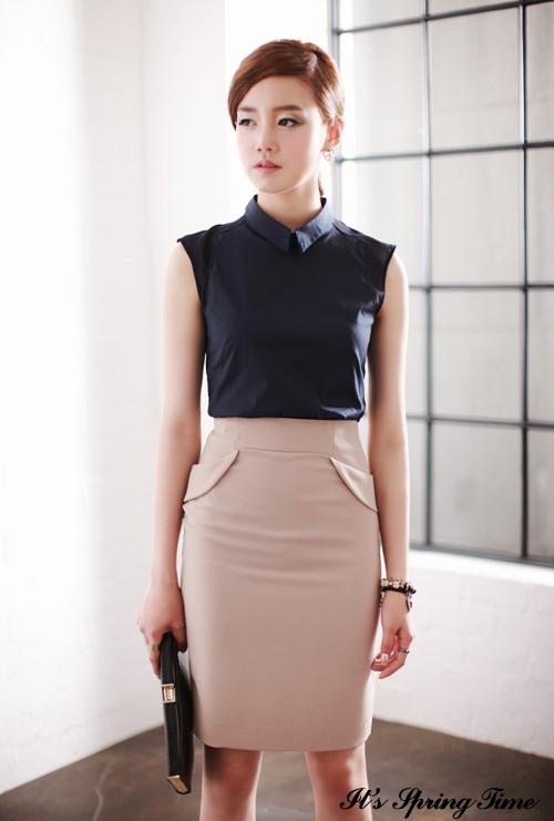Skirt blouse | Fashion | Pinterest