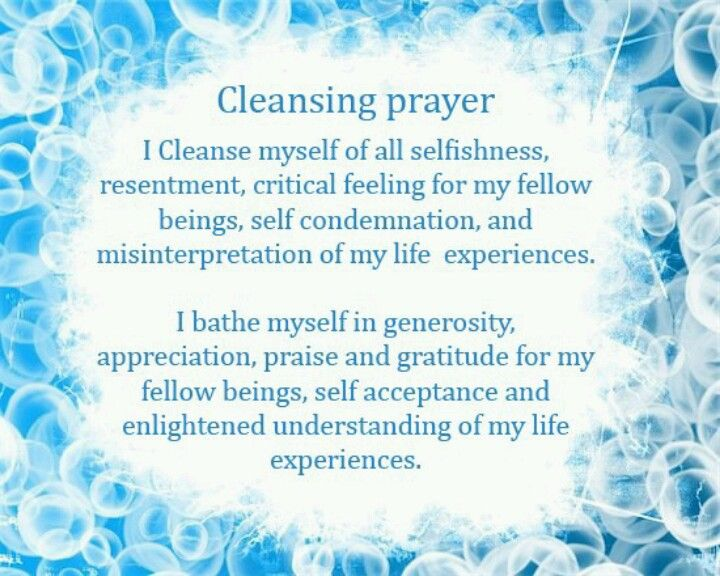 Cleansing Prayer From Wicca Teachings Wiccan Pagan