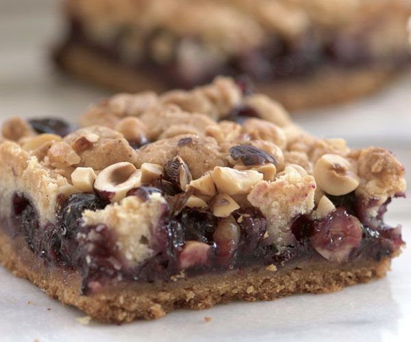 Blueberry-Hazelnut Bars by Fine Cooking | American Desserts | Pintere ...