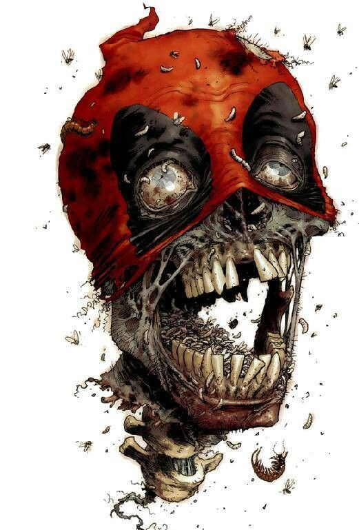 Zombie deadpool zombies and other slightly scary things pinterest