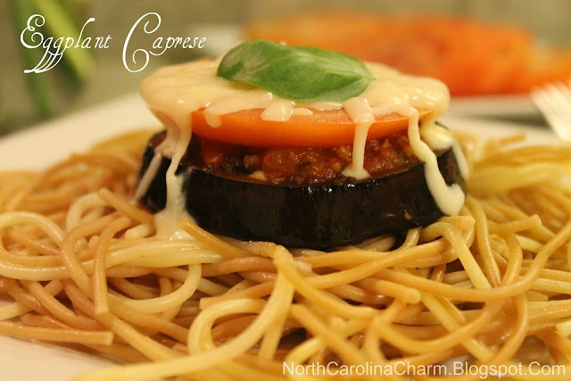 Eggplant Caprese - made this but marinated overnight with the balsamic ...