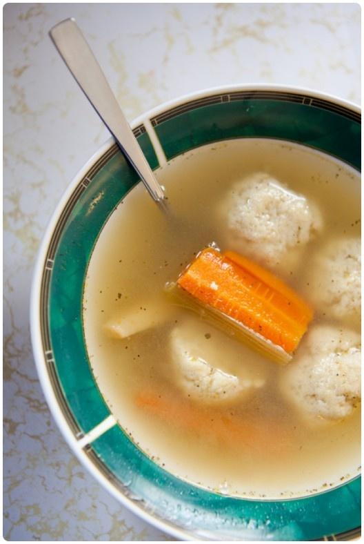 Matzo Ball Soup | Soups | Pinterest