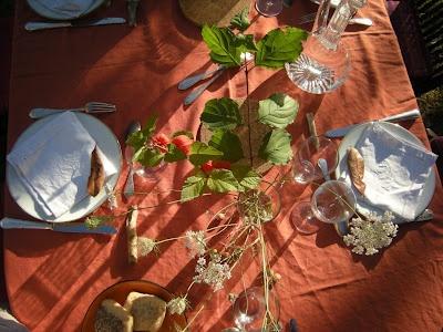 table dautomne  Déco de tables  Pinterest