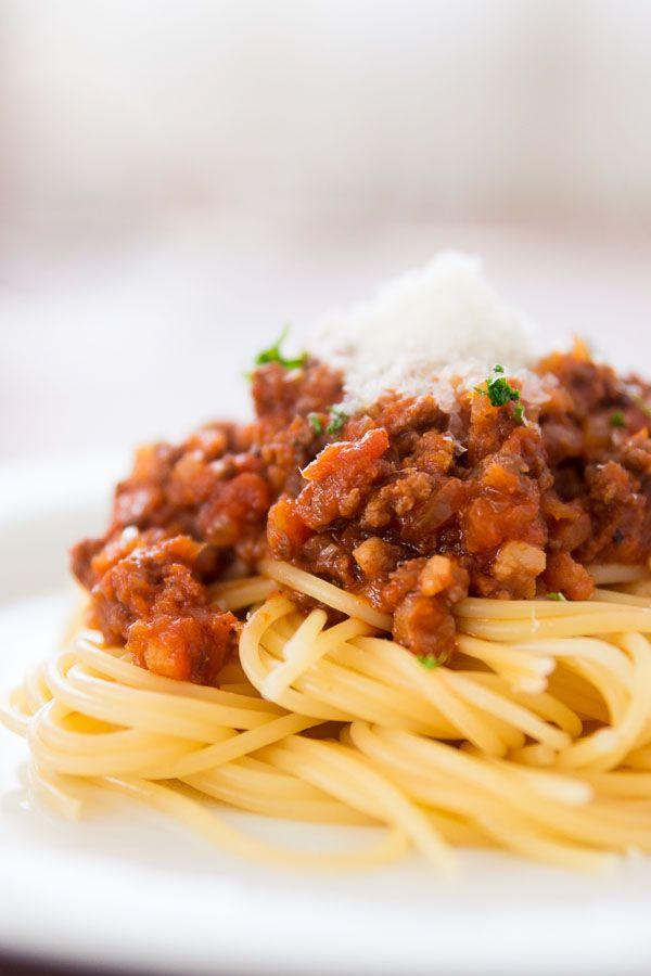 Spaghetti and Meat Sauce | Recipe
