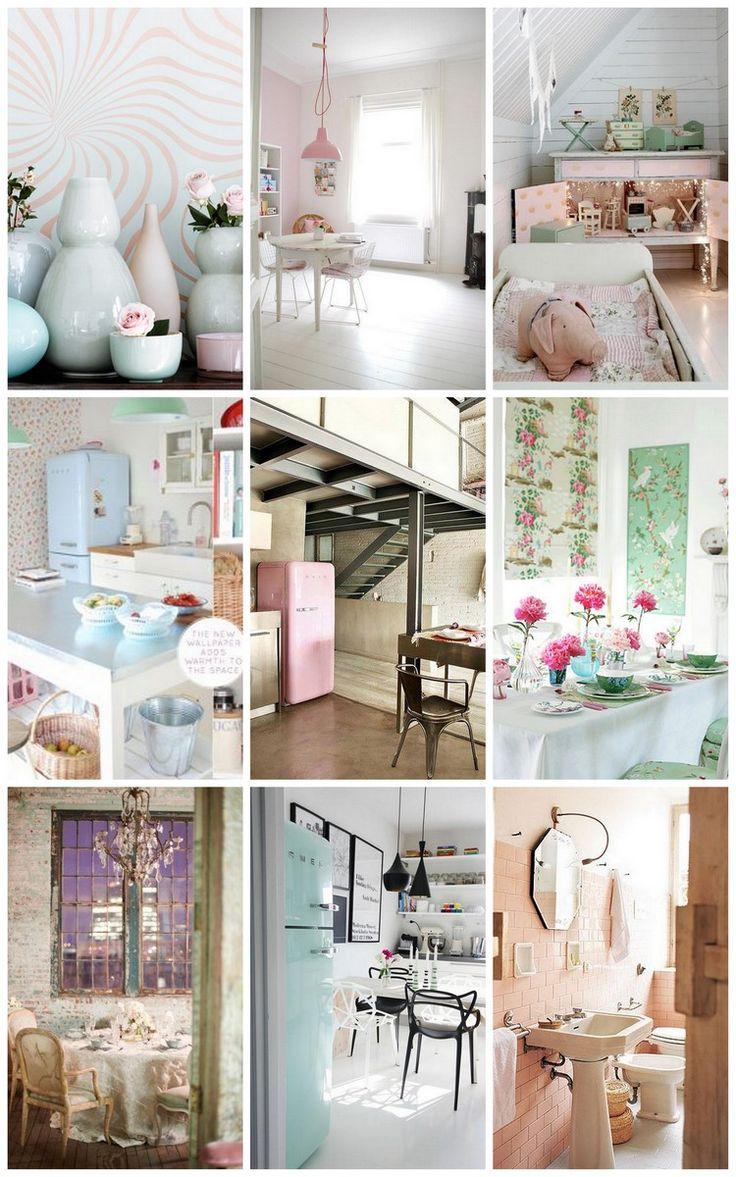 love the pastel colours  Zewds little cafe ideas  Pinterest