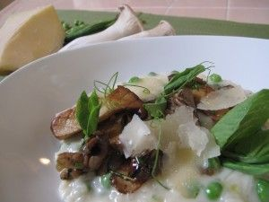 Cucina Enoteca's Wild Mushroom and English Pea Risotto. | Best O.C ...