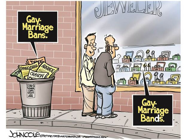 Editorial cartoon gay marriage Political and Editorial Cartoons - The ...: pinterest.com/pin/565624034423664938