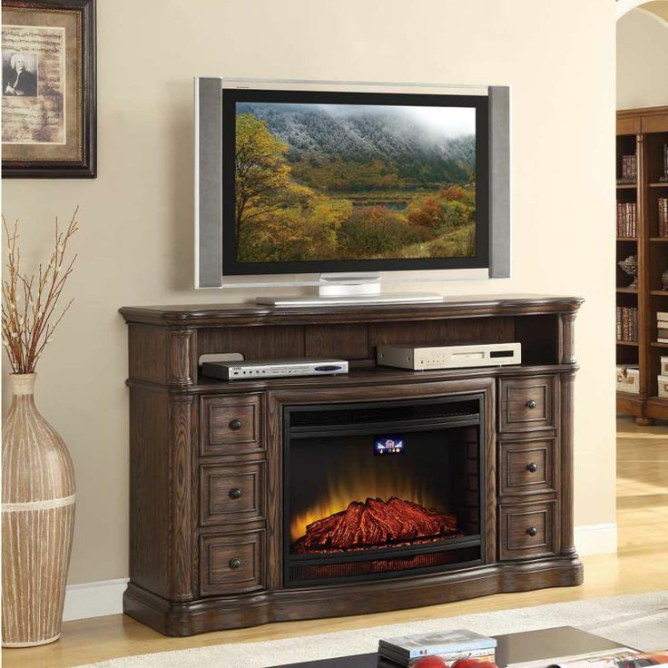 McIntyre Electric Fireplace w/ Media Entertainment Mantel - Sam's Club