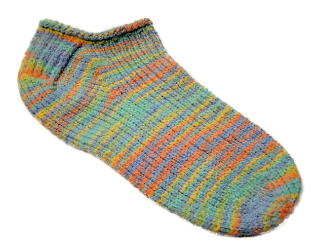Knitted Ankle Socks Patterns Free : Footie Socks Knit It! Pinterest