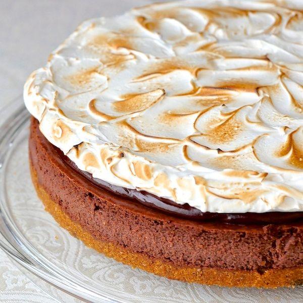 mores Cheesecake | om nom nom nomnivor | Pinterest